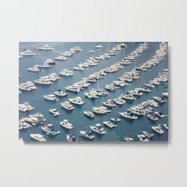 Avalon Harbor Metal Print