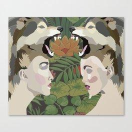wild women Canvas Print