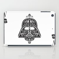 card iPad Cases featuring Darth Vader Card by Sitchko Igor