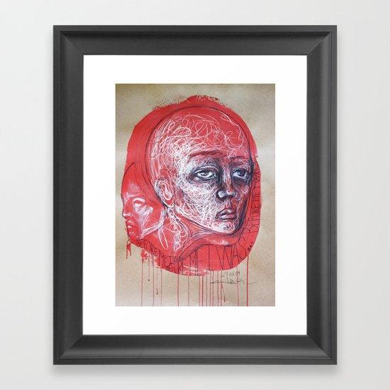 Before me I was... Framed Art Print