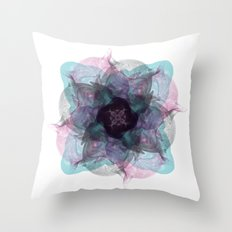 Devil's flower Throw Pillow