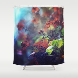 Morning Poetry Shower Curtain