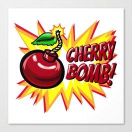 Cherry Bomb! Canvas Print