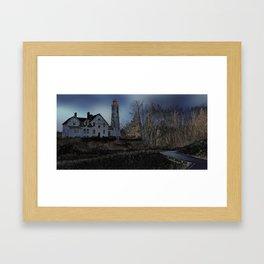 Point Iroquois Infrared Framed Art Print