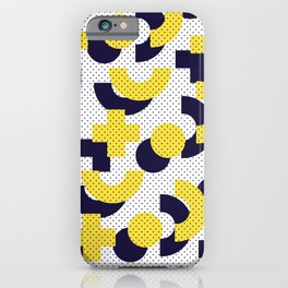 Pattern in 90 80 style iPhone Case