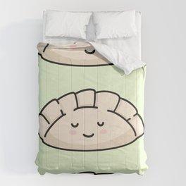 Cute Dumpling Faces Comforters