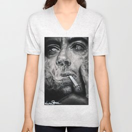 Robert Downey JR Unisex V-Neck