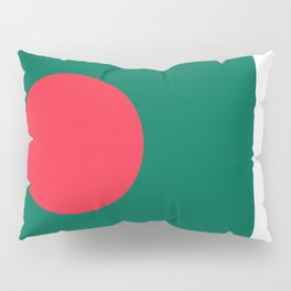 Flag of Bangladesh, High quality authentic HD version Pillow Sham