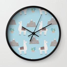 Llama Llama Wall Clock