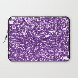 Seeing Purple Laptop Sleeve