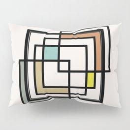 Mid Century Modern Squares Pillow Sham