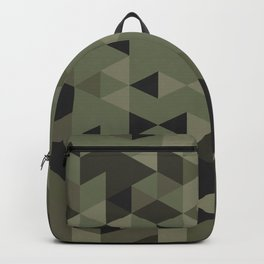 Isometric Camo Backpack