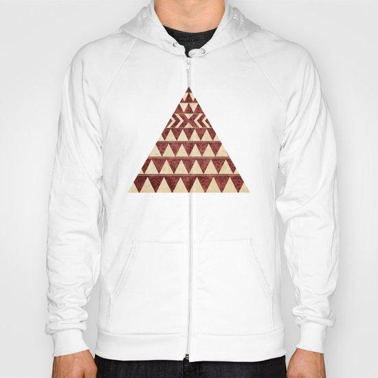 Vintage Material Triangles Hoody