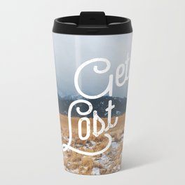 Get Lost Metal Travel Mug