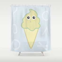 Italian Ice Cream Shower Curtain