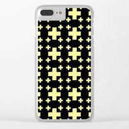 Jerusalem Cross 4 Clear iPhone Case