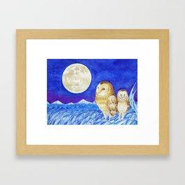 Animals from Formosa-Grass Owl Framed Art Print