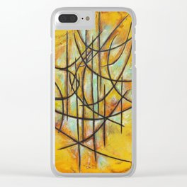 Etnik 3 Clear iPhone Case