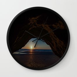 The Mystic Cavern ~ Solana Beach Wall Clock