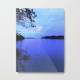 Rainbow Lake Metal Print
