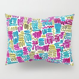 Squiggles & Giggles Pillow Sham