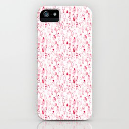 ELLAS SON COMO LAS FLORES DEL CEREZO IGUAL AL HAIKU iPhone Case