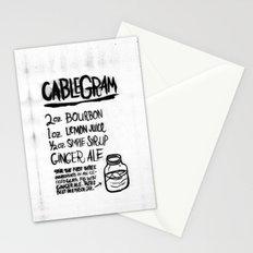 CABLEGRAM Stationery Cards