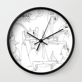 feed back  Wall Clock