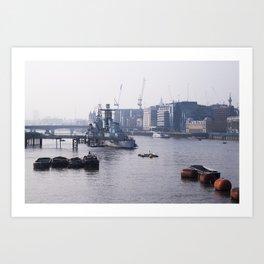 London - RT Art Print