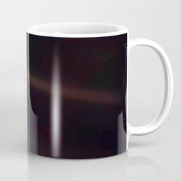 Mote of dust, suspended in a sunbeam Coffee Mug