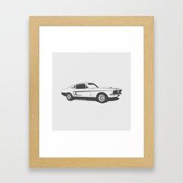 Shelby GT500 Framed Art Print