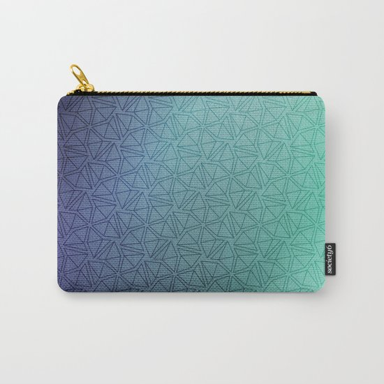 Gradient Web Carry-All Pouch