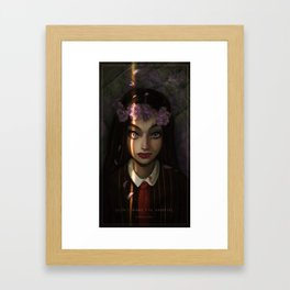 Don't Wake Up the Vampire Framed Art Print