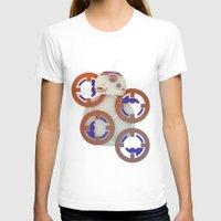 starwars T-shirts featuring StarWars BB8 by Joshua A. Biron