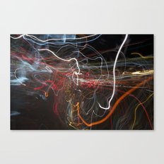 City Lights 3 Canvas Print
