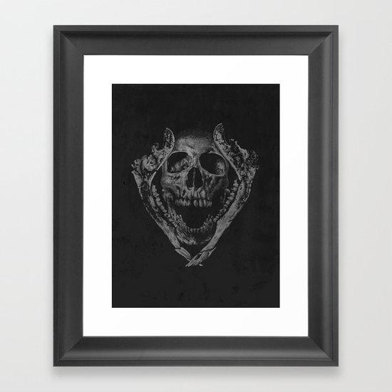 Jawz Framed Art Print