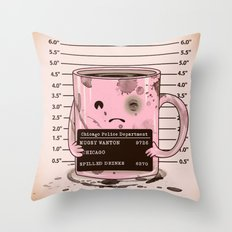 Mugshot Throw Pillow