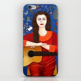 "Violeta Parra - ""Thanks to Life "" iPhone Skin"