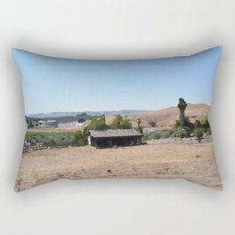 An Afternoon in Napa Valley Rectangular Pillow