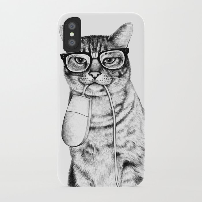 Mac Cat iPhone Case