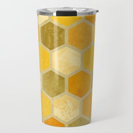 Comb on Bee happy Travel Mug