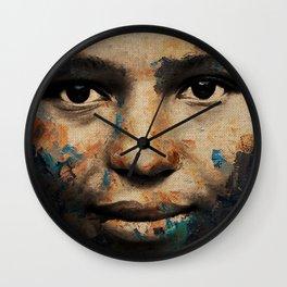 The Human Race 6 Wall Clock