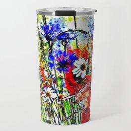 Garden of Flowers Travel Mug