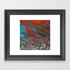 La ciudad de la furia Framed Art Print