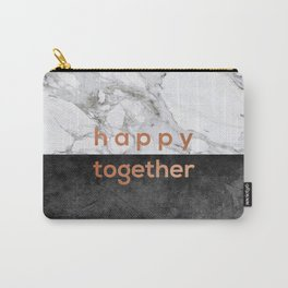 Happy Together Copper Carry-All Pouch