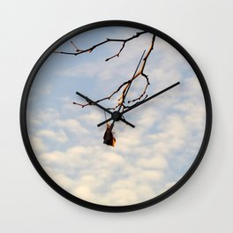 The last one left Wall Clock