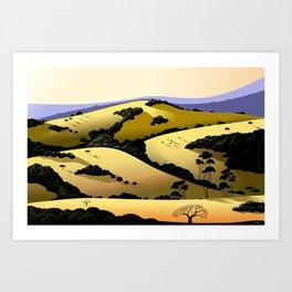 Grant Ranch Art Print