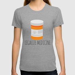 Legalize Medicine T-shirt