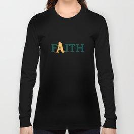 Oakland A's Faith Long Sleeve T-shirt