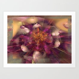 Beauty Explodes Art Print